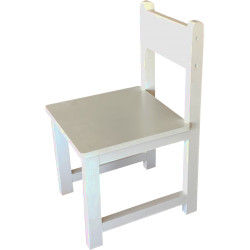 Chaise blanche Made in France Mobilier Petit Pouce Factory