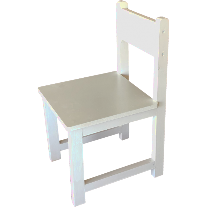 Chaise blanche Made in France Anciennes Collection Petit Pouce Factory