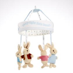 Mobile musical Pierre Lapin Original Peluches Pierre Lapin