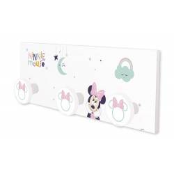 Porte manteau mural Disney Baby Minnie Anciennes Collection